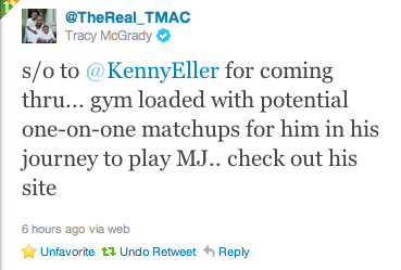 Tracy McGrady Gives a Shout Out to mevsMJ.com!