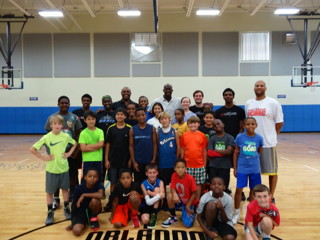 Speaking at Orlando Magic Rec Camp (June 2014)
