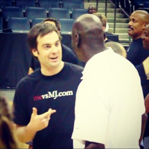 Telling Michael Jordan about mevsMJ.com