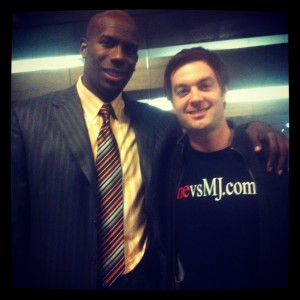 Me with Bo Outlaw