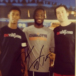 Carlyle, Kemba Walker and Myself