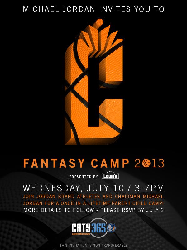 MJ Bobcats Fantasy Camp
