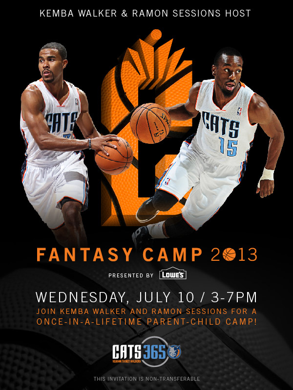 Bobcats Fantasy Camp No MJ