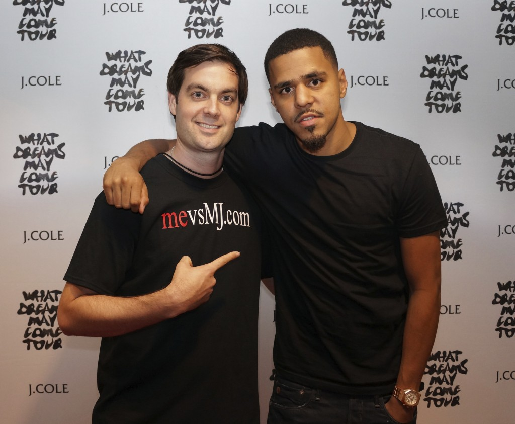 Sharing mevsMJ.com with J. Cole