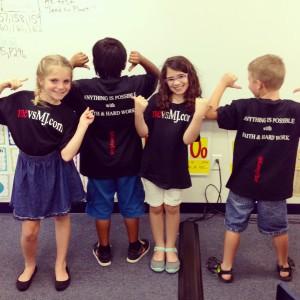 Kids from Dillard Elementary