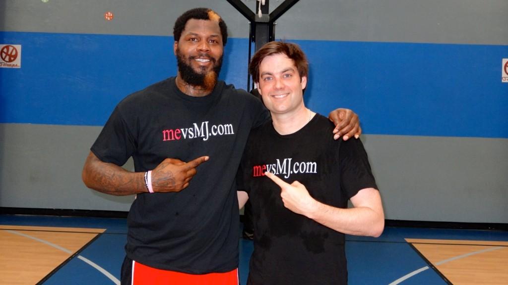 Me with NBA Champion DeShawn Stevenson
