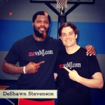 Thumbnail image for Me vs. DeShawn Stevenson (NBA Champion)
