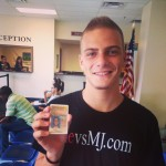 Noah getting his Driver's License