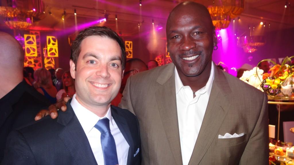 Me with Michael Jordan