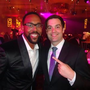 Me with Marcus Jordan