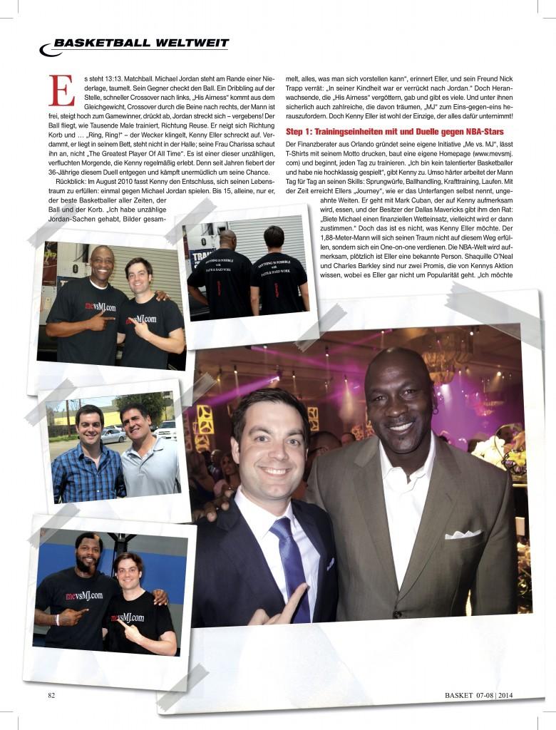 NBA Magazine Page 1