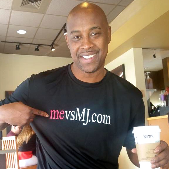 Kenny Anderson showing his support!