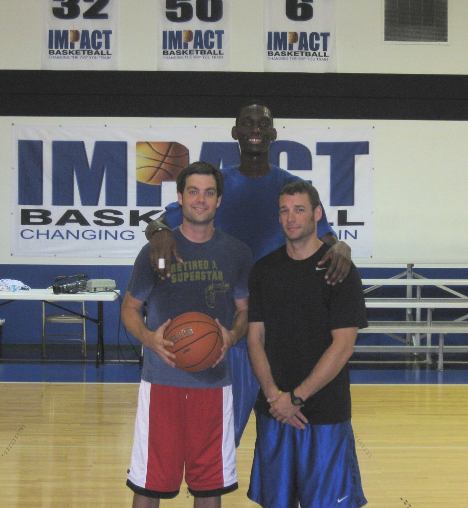 Me, Akeme Smart, Matt Hiller (Impact Basketball)