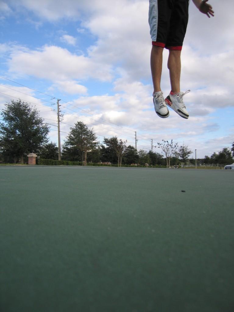 See Bob, I can still jump!