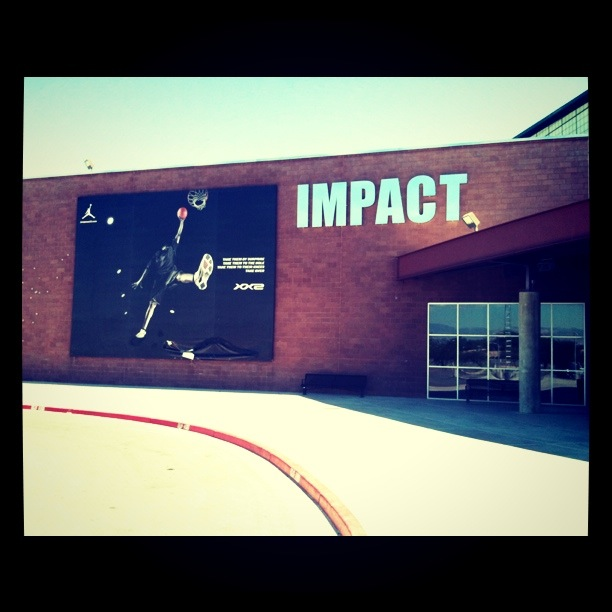 Impact Basketball (Las Vegas). Sitting in the last of a long row of folding ...