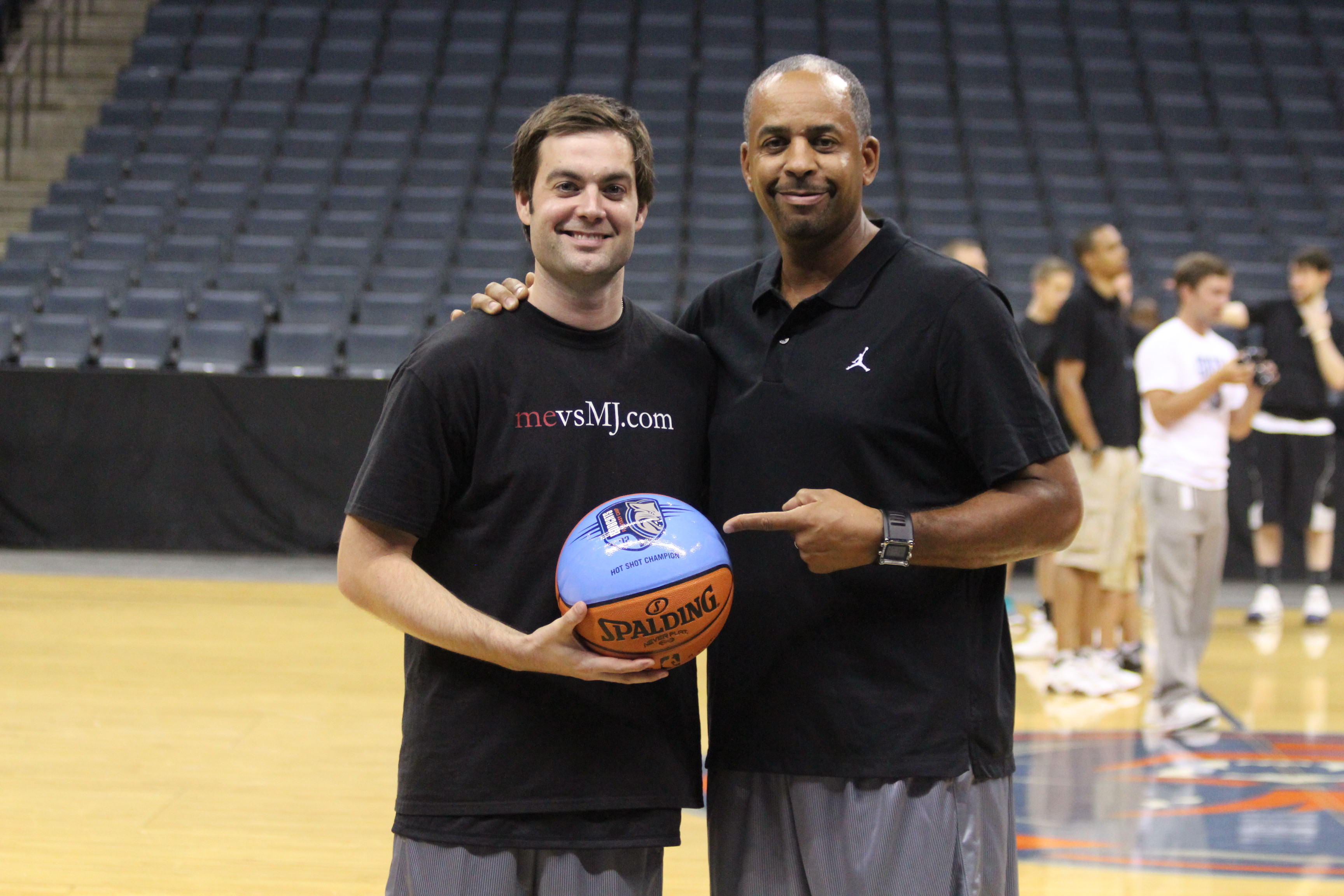 mevsMJ with Dell Curry